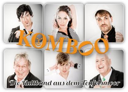 Komboo Pressefoto mit Logo