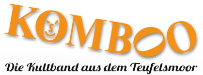 Komboo Bandlogo mit Text